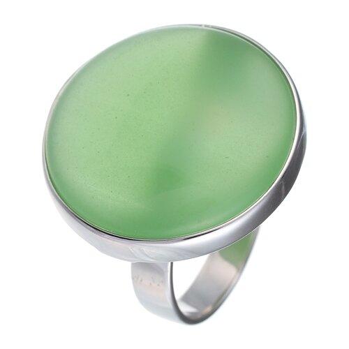 цена на JV Кольцо с ювелирным стеклом из серебра B3198-US-011-WG, размер 18