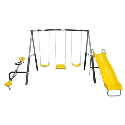 Спортивно-игровой комплекс DFC 74560 желтый/черный/серый