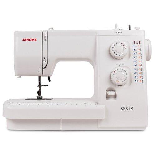 Швейная машина Janome SE 518, белый