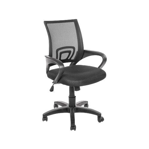 Компьютерное кресло Woodville Turin офисное, обивка: текстиль, цвет: черный компьютерное кресло turin компьютерное кресло
