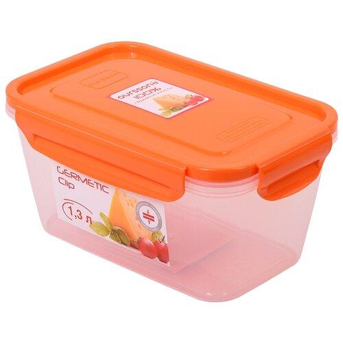 Фото - Oursson Контейнер CP1304S оранжевый/прозрачный oursson контейнер cp1103s cp1103 1s оранжевый прозрачный