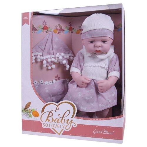Пупс Junfa toys Baby so lovely, 1911-2 пупс junfa toys baby so lovely 1911 3