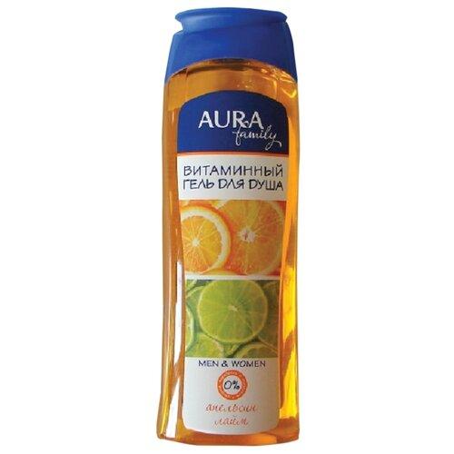 Гель для душа Aura витаминный, 260 мл