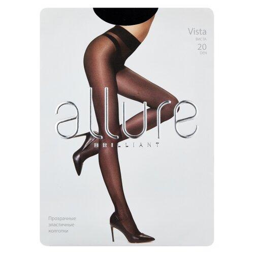 Колготки ALLURE Brilliant Vista 20 den, размер 3, nero (черный) колготки 20 den черн allure