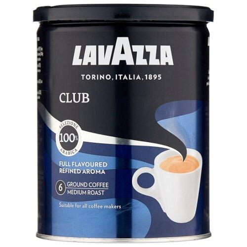 Кофе молотый Lavazza Club жестяная банка, 250 г кофе молотый i̇stanbul türk kahvesi c ароматом карамели жестяная банка 250 г