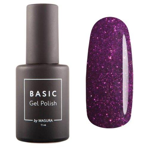 Купить Гель-лак для ногтей Masura Basic, 11 мл, пурпур