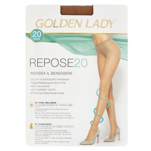 Колготки Golden Lady Repose 20 den, размер 5-XL, melon (бежевый) колготки golden lady mara 20 den размер 6 xxl melon бежевый