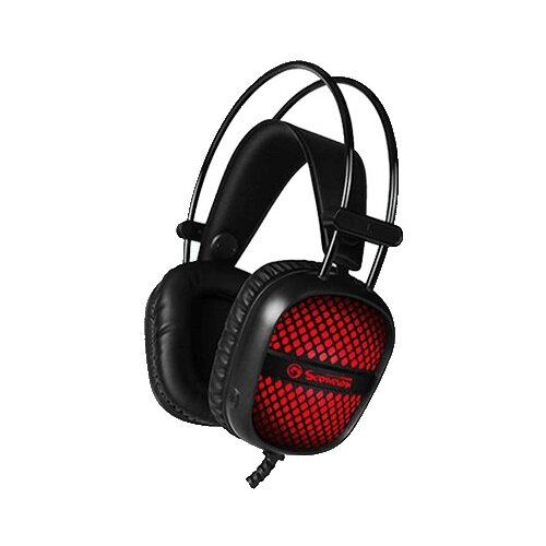 Компьютерная гарнитура MARVO HG8941 черный/красный