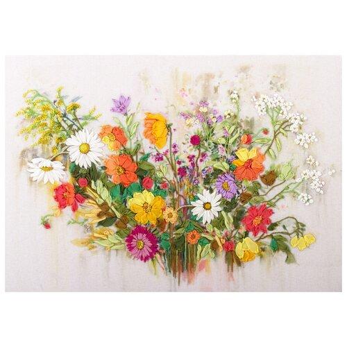 Купить PANNA Набор для вышивания Краски лета 29.5 х 19 см (JK-2020), Наборы для вышивания