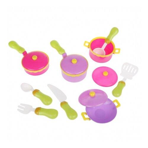 Купить Набор посуды Наша игрушка 800736 разноцветный, Игрушечная еда и посуда