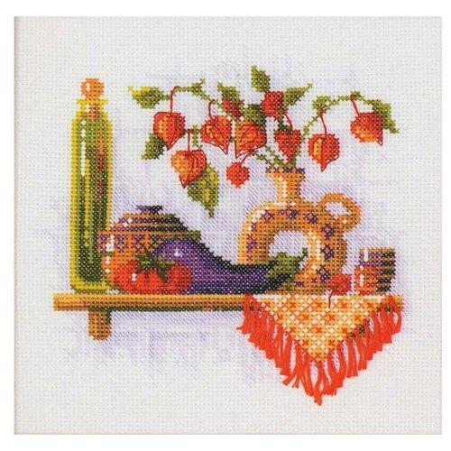Купить Риолис Набор для вышивания Физалис 21 х 21 см (993), Наборы для вышивания