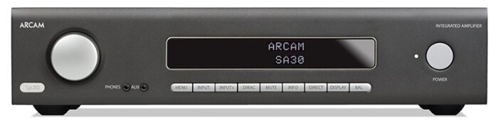 Интегральный усилитель Arcam HDA SA30 black фото 1