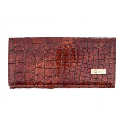 WN013-3 (P-01) Brown GIFT SERIES, ZW, 273, z-p, Портмоне из кожи Agave Col-102004, портмоне женское zinger sahara wn013 3 коричневое