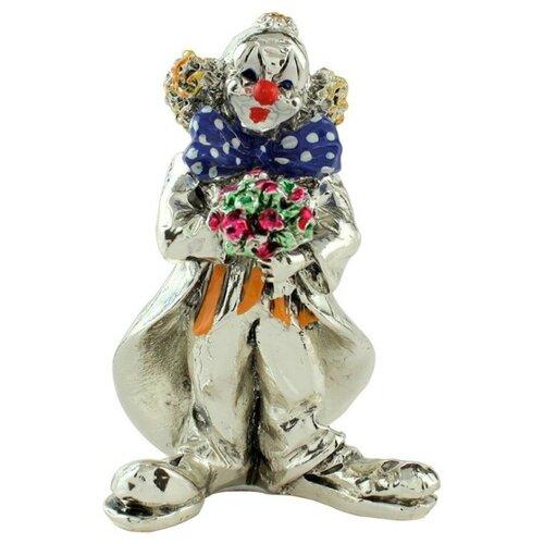 Фигурка Клоун с цветами Argenti Piu 674 8 см
