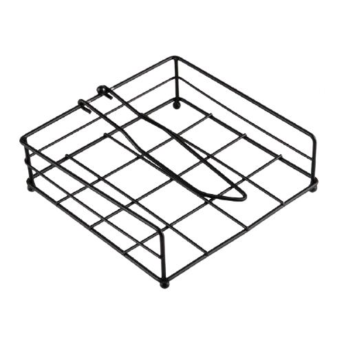 столовые приборы Салфетница Доляна Столовые приборы 4330018 черный