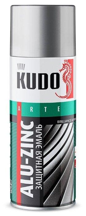 Эмаль KUDO универсальная защитная алюминиево-цинковая