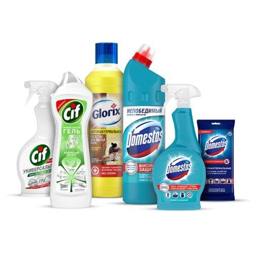 Domestos набор чистоты для защиты от вирусов и бактерий