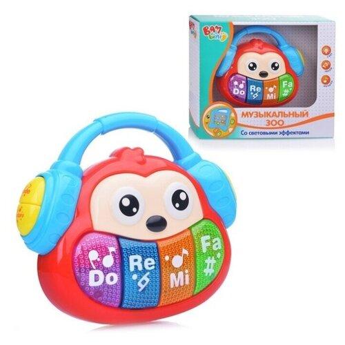 S+S Toys пианино Обезьянка Бамбини красный игрушка s s toys bambini музыкальное пианино котик сс76753