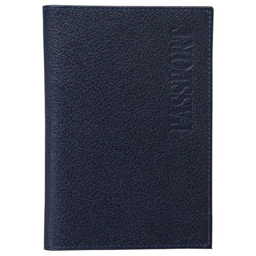 Фото - Обложка для паспорта Befler Грейд, синий befler v 34 1 red
