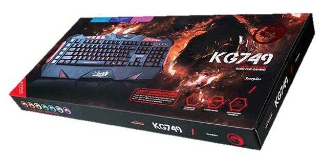 Купить Клавиатура Marvo KG749 проводная игровая с подсветкой для PC по низкой цене с доставкой из Яндекс.Маркета (бывший Беру)