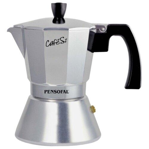 Гейзерная кофеварка Pensofal CafeSi (0.35 л), серебристый