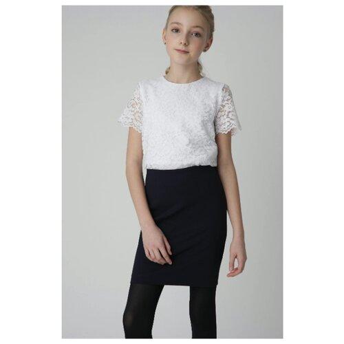 Блузка Gulliver размер 140, белый
