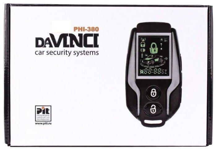 Автомобильная сигнализация Davinci PHI 380