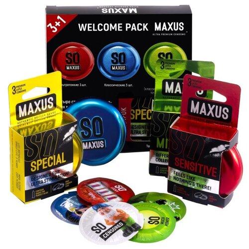 Презервативы Maxus Welcome Pack (12 шт.)