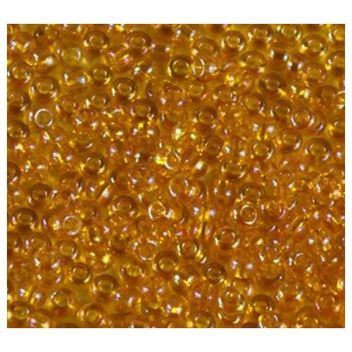 Купить Бисер 10/0 Preciosa , 50 грамм, цвет: оранжевый 14, арт. 163142, Фурнитура для украшений