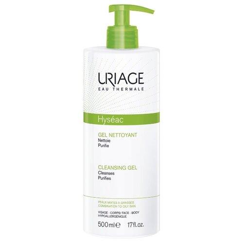 Uriage гель очищающий Hyseac, 500 мл uriage мягкий очищающий пенящийся гель синдет xemose 500 мл