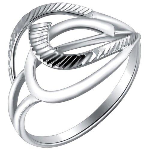 Эстет Кольцо из серебра Н11К751035, размер 16.5 ЭСТЕТ