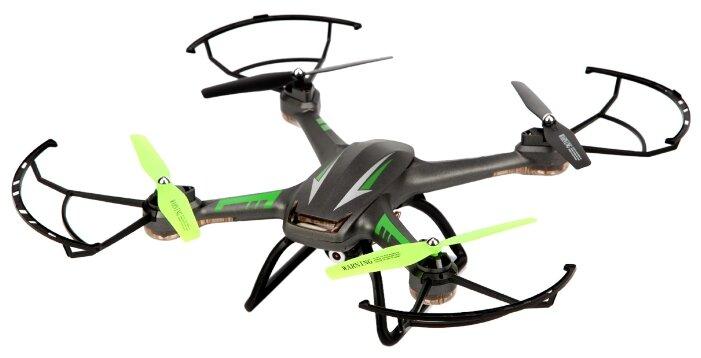 Квадрокоптер SPL FX11 (IG436) черный/зеленый фото 1