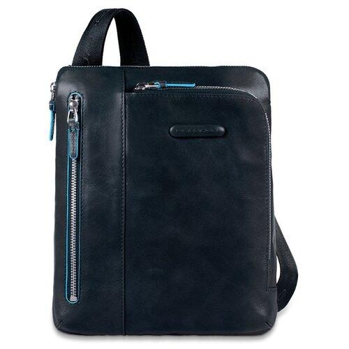 Сумка планшет PIQUADRO Blue Square (CA1816B2), натуральная кожа, night blue планшет