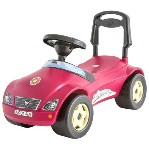 Купить Каталка-толокар Orion Toys Мерсик (016) со звуковыми эффектами красный, Каталки и качалки