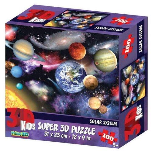 Купить Пазл Prime 3D Планеты (13720), 100 дет., Пазлы