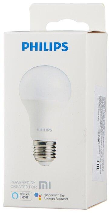 Лампа светодиодная Philips ZeeRay, E27, A60, 9Вт фото 1