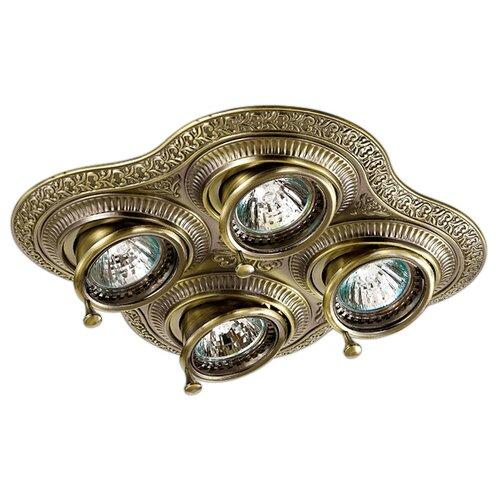 Встраиваемый светильник Novotech Vintage 370178 novotech встраиваемый светильник vintage 370180