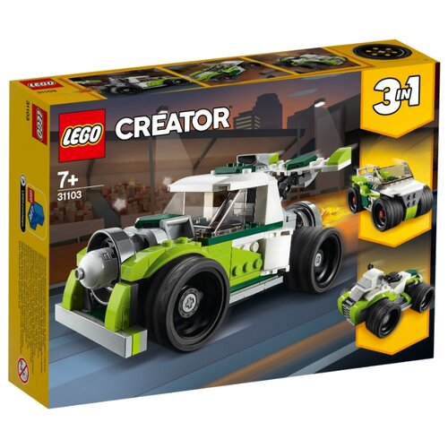 Конструктор LEGO Creator 31103 Грузовик-ракета конструктор creator lego lego mp002xb0085u