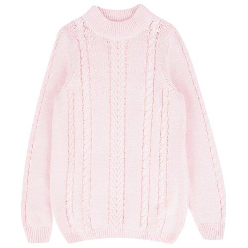 Купить Джемпер Leader Kids размер 140, розовый, Свитеры и кардиганы