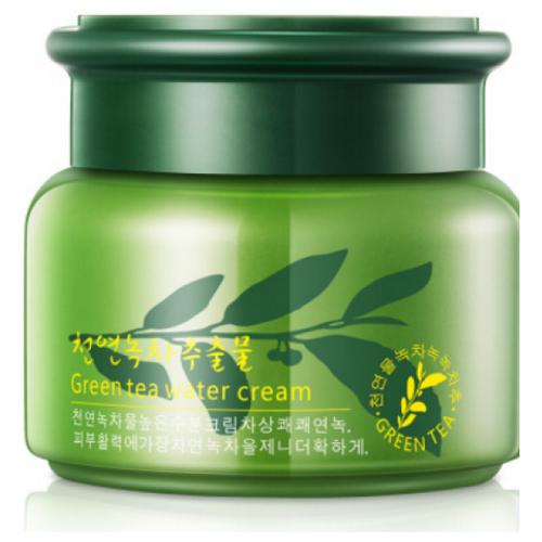 Rorec Green Tea Water Cream Крем для лица увлажняющий с зеленым чаем, 50 г