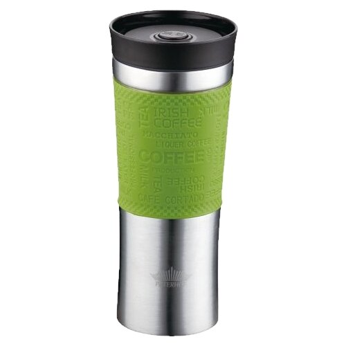 Термокружка Peterhof PH-12439, 0.48 л зеленый