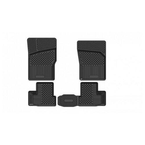 Комплект ковриков салона SRTK PR.D.NEX.94G.02010 для Daewoo Nexia 4 шт. черный 2