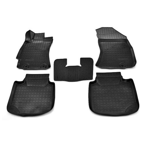 Фото - Комплект ковриков NorPlast NPA11-C84-300 для Subaru Legacy 5 шт. черный комплект ковриков norplast np11 ldc 69 250 renault koleos 5 шт черный