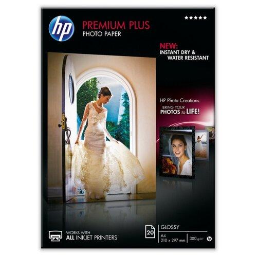 Бумага HP A4 СR672A 300 г/м² 20 лист. белый 1 шт. hp бумага q8005a