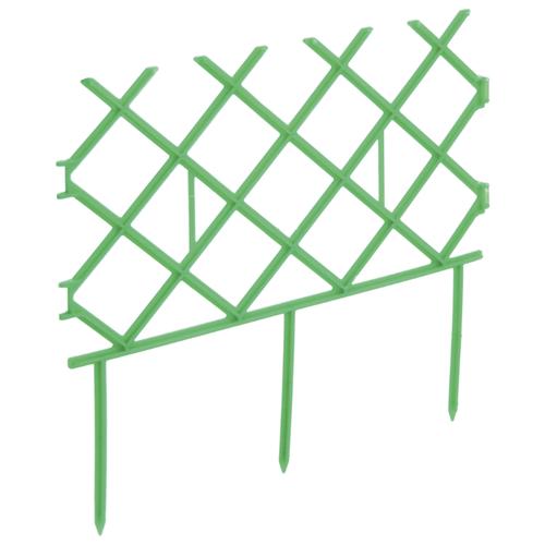 Забор декоративный Комплект-Агро Палисад, зеленый, 3 х 0.19 м