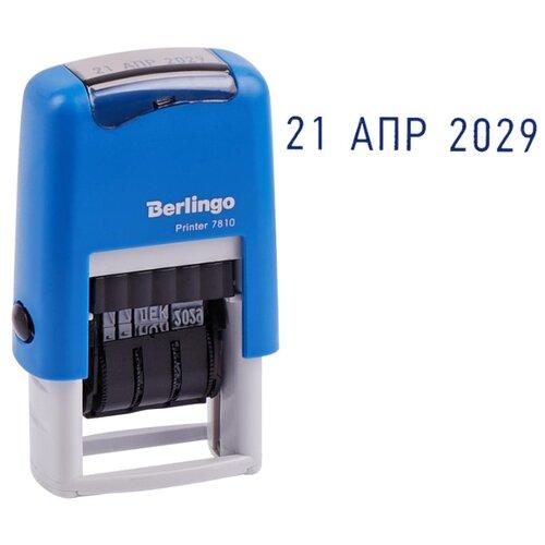 Фото - Датер Berlingo Printer 7810 ленточный синий geeetech gt7l 3d printer extruder j head nozzle silver