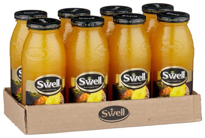 Сок Swell Ананас, без сахара, 0.25 л, 8 шт.