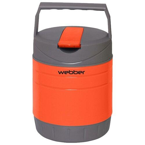 Термос для еды Webber 24010/6Р, 1.2 л оранжевый/серый