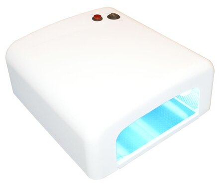 УФ-лампа Runail для моделирования гелем, 36 W RU 818