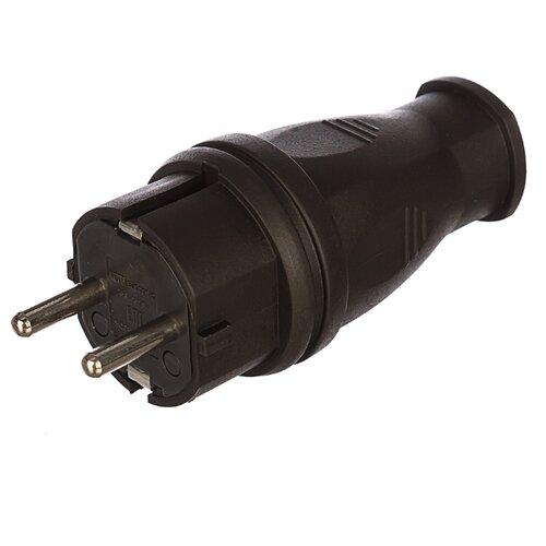 Вилка TDM ЕLECTRIC SQ0612-0001 черный отвертка индикаторная tdm sq0501 0001